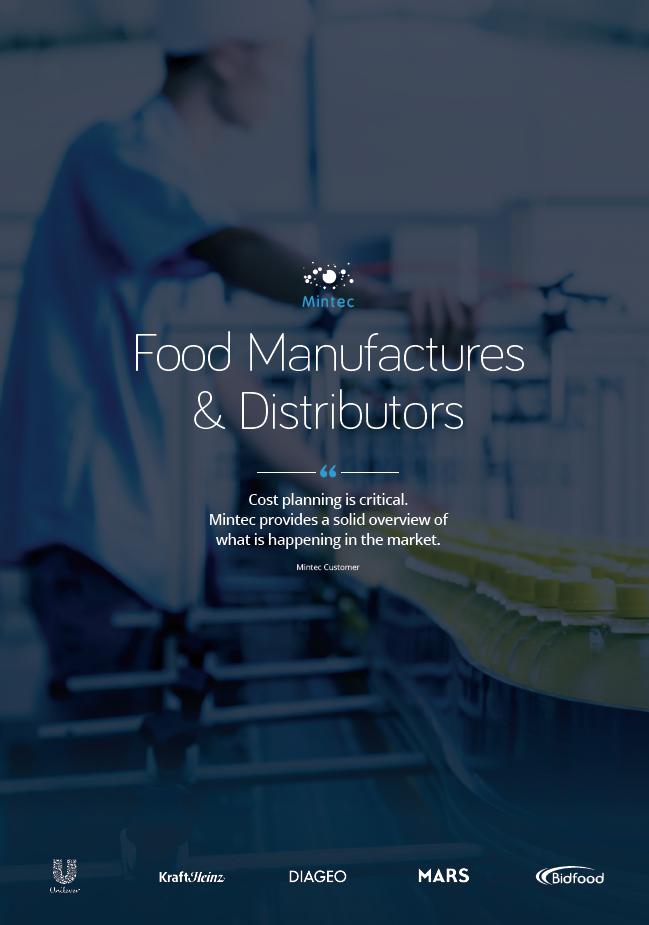 usecase cover - food manufacturer